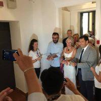 Inaugurata la colorata mostra di Miró a Recanati