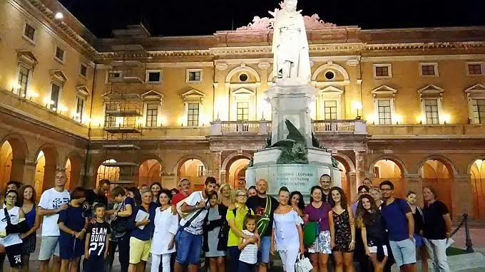 Tour a Recanati, boom di visite nell'estate 2017