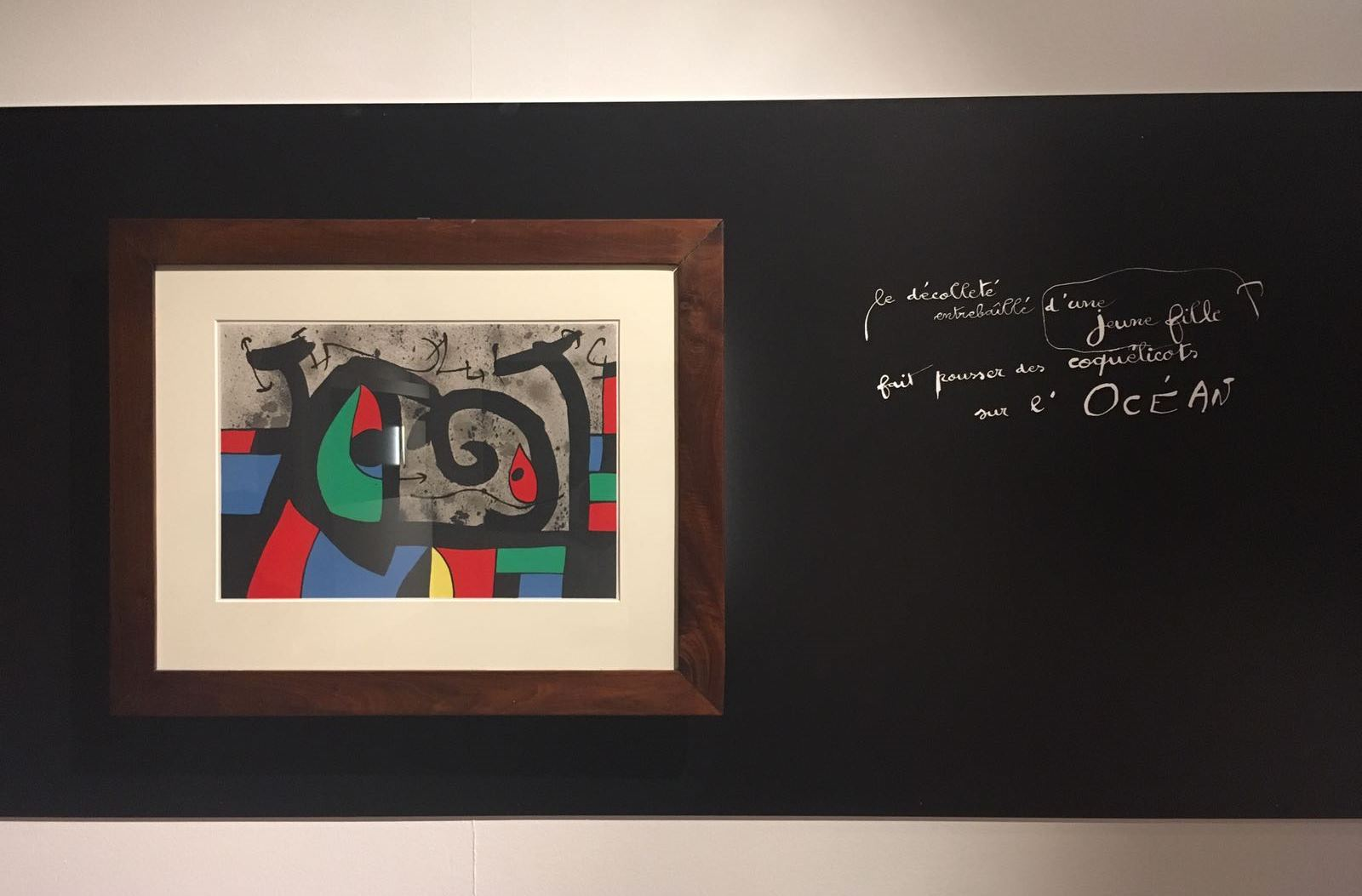 Successo per la mostra di Miró a Recanati. Prorogata fino al 5 novembre