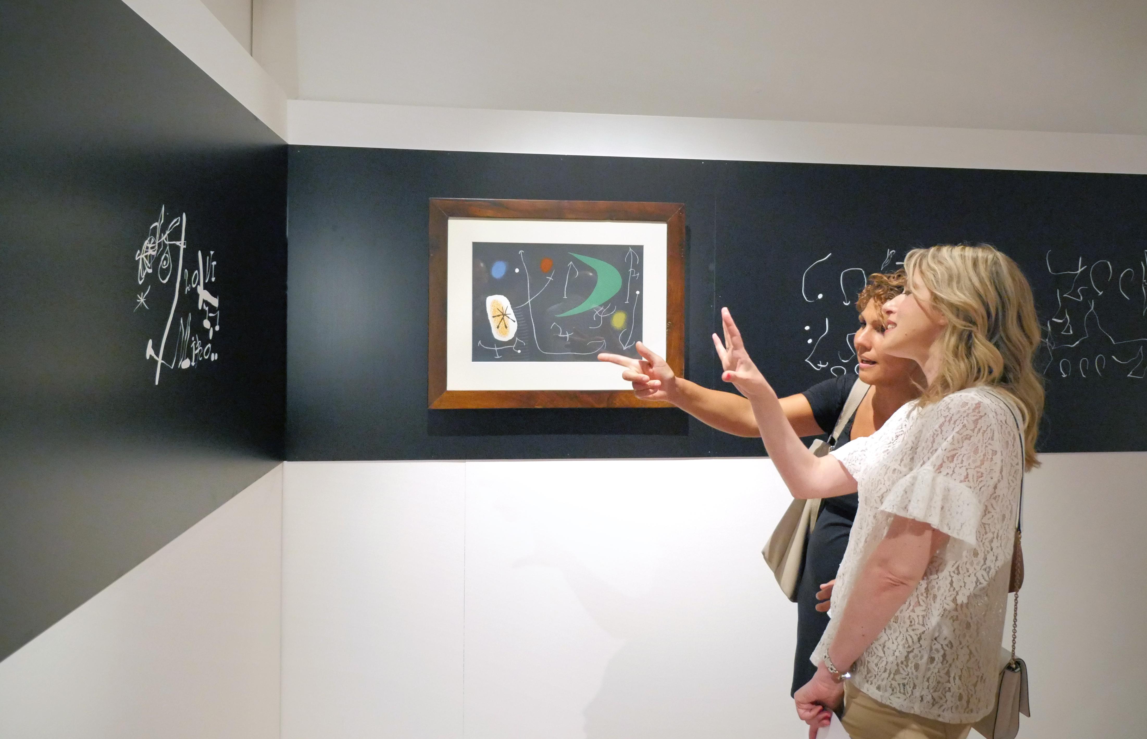 Ancora due settimane per Miró a Recanati. Prorogata fino al 19 novembre