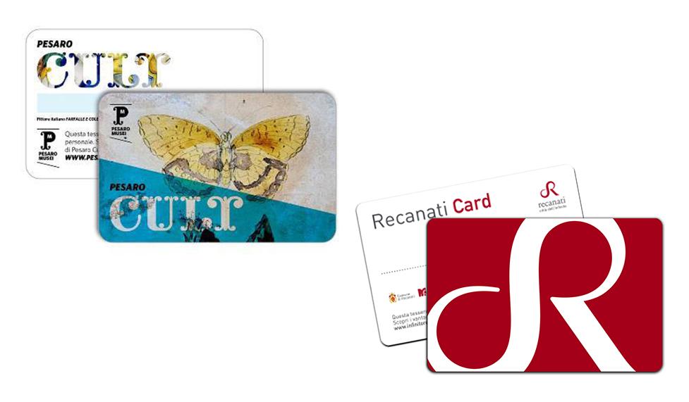 Recanati e Pesaro, due mostre con una Card