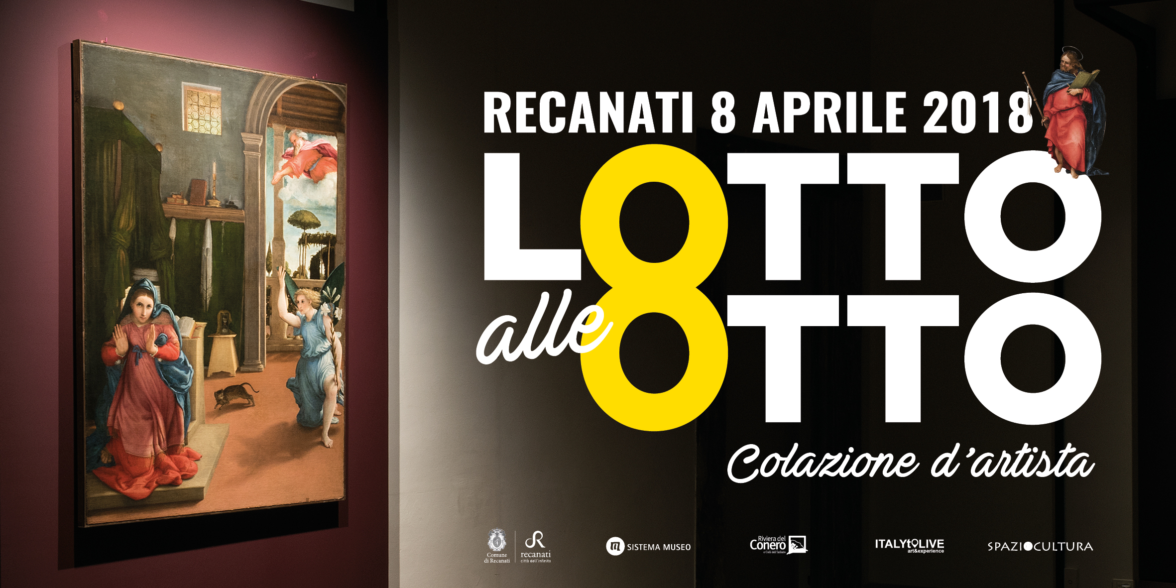 &quote;Lotto alle 8&quote;, colazione d'artista al museo