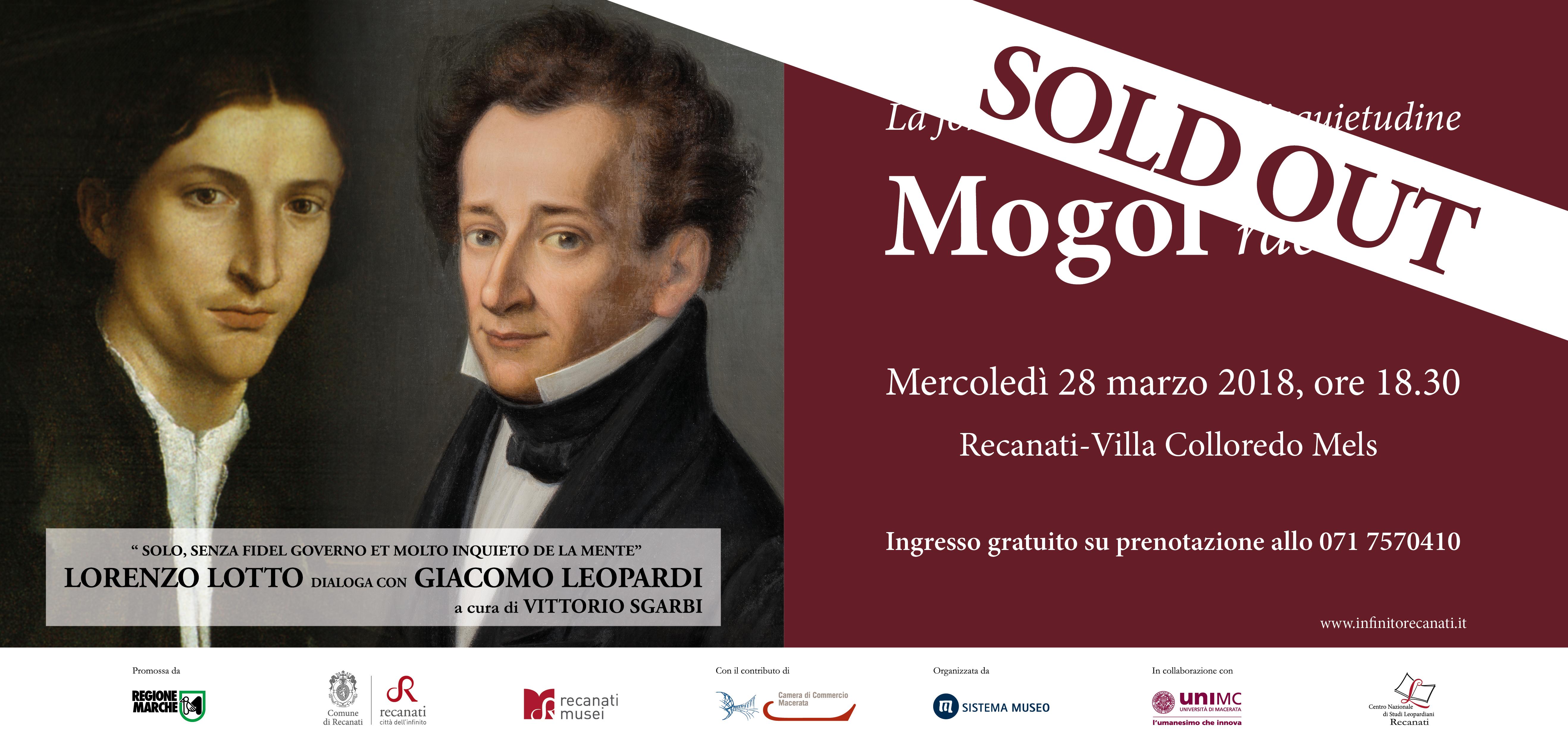 SOLD OUT | Ospite speciale a Recanati: Mogol dialoga tra arte, poesia e musica