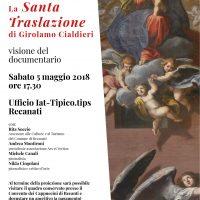 """Allo Iat il documentario """"La Santa Traslazione della Santa Casa di Loreto"""" Opera di Girolamo Cialdieri"""
