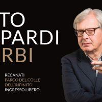Lotto, Leopardi, Sgarbi: il dialogo al Colle dell'Infinito