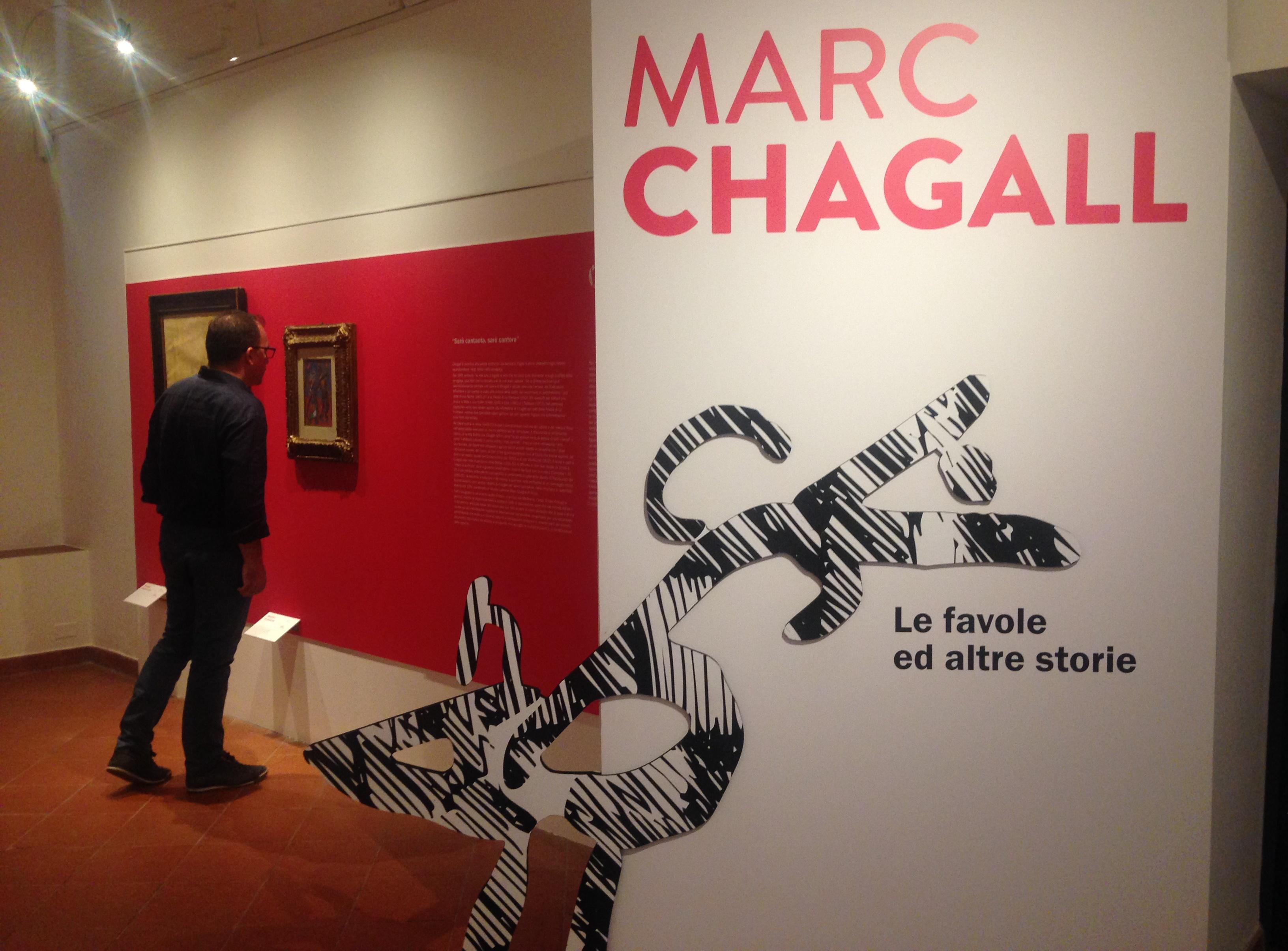 """Ultimi giorni per ammirare """"Le favole"""" di Chagall"""