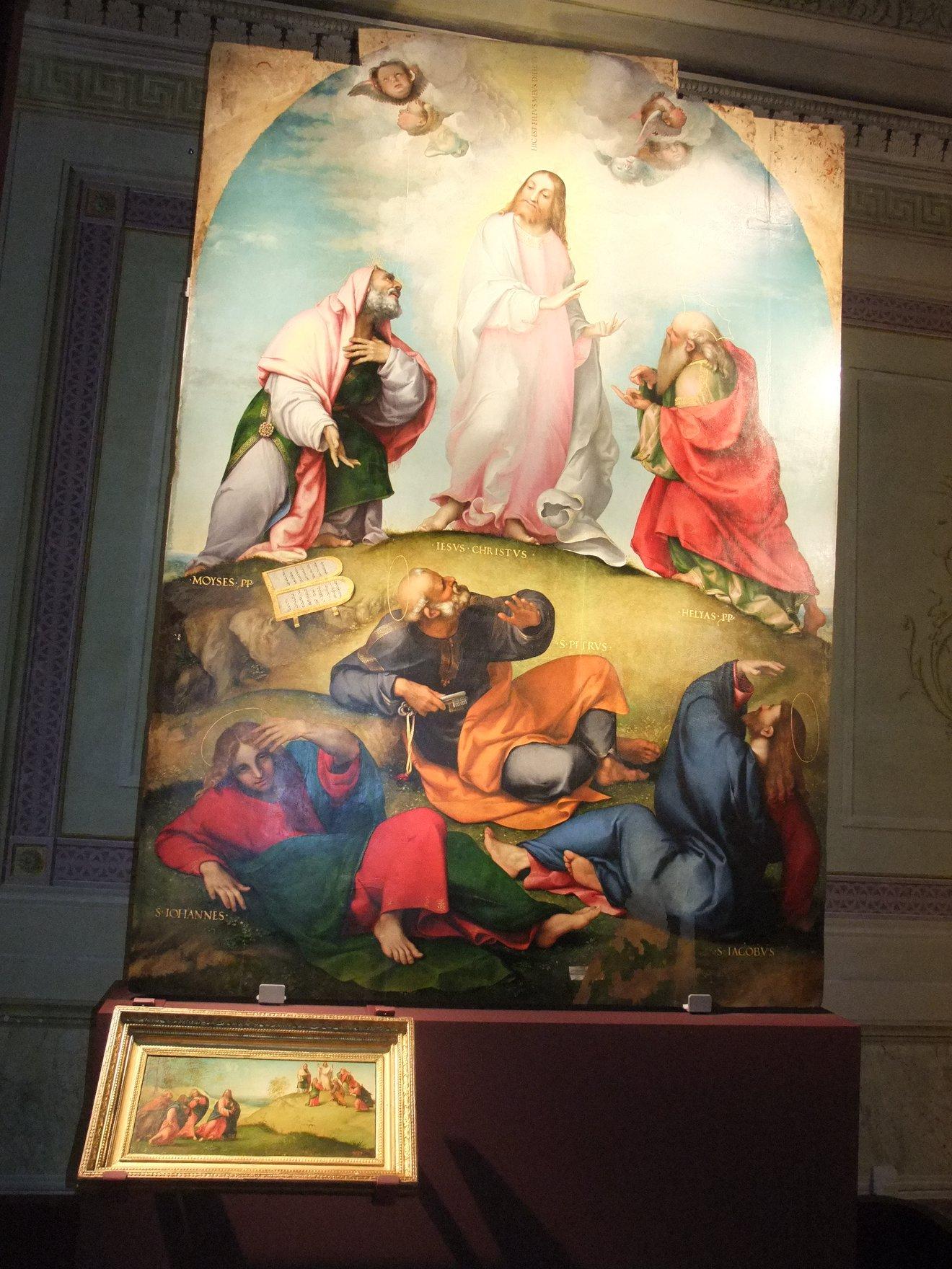 La predella di Lorenzo Lotto esposta a Villa Colloredo Mels