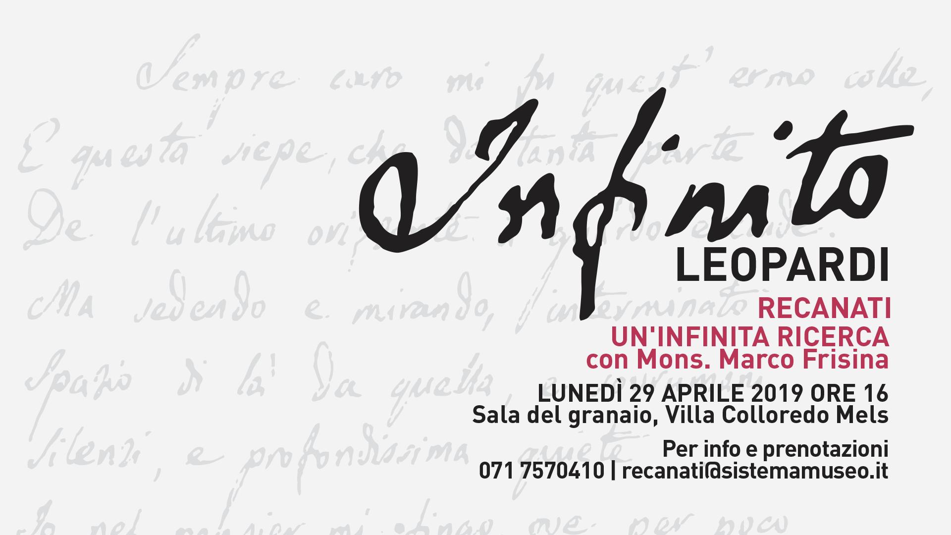 &quote;Un'infinita ricerca&quote;, viaggio spirituale ne L'Infinito di Giacomo Leopardi