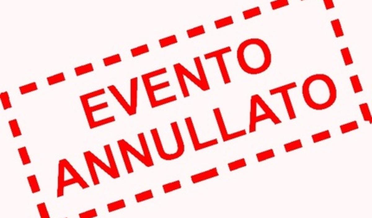 Infinito experience, 9 - 13 settembre tour annullati