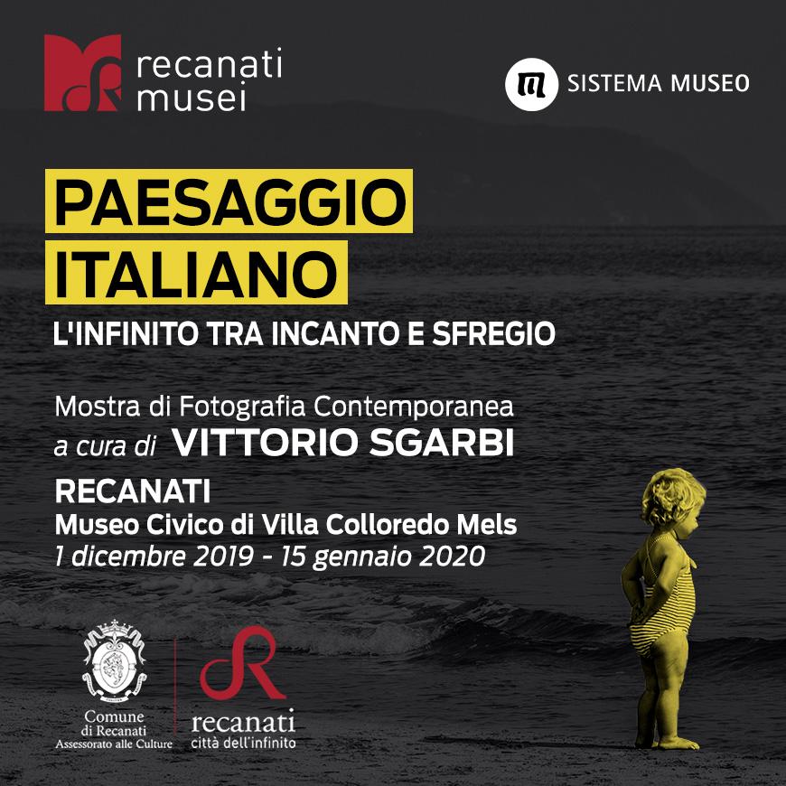 &quote;Paesaggio Italiano&quote;, su il sipario sulla mostra curata da Vittorio Sgarbi