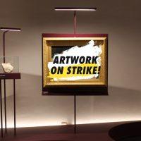 """Il museo di Villa Colloredo Mels mette un'opera in """"sciopero"""" per il #climatestrike"""