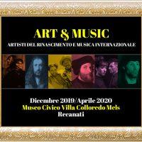 Art & Music - artisti del Rinascimento e musica internazionale