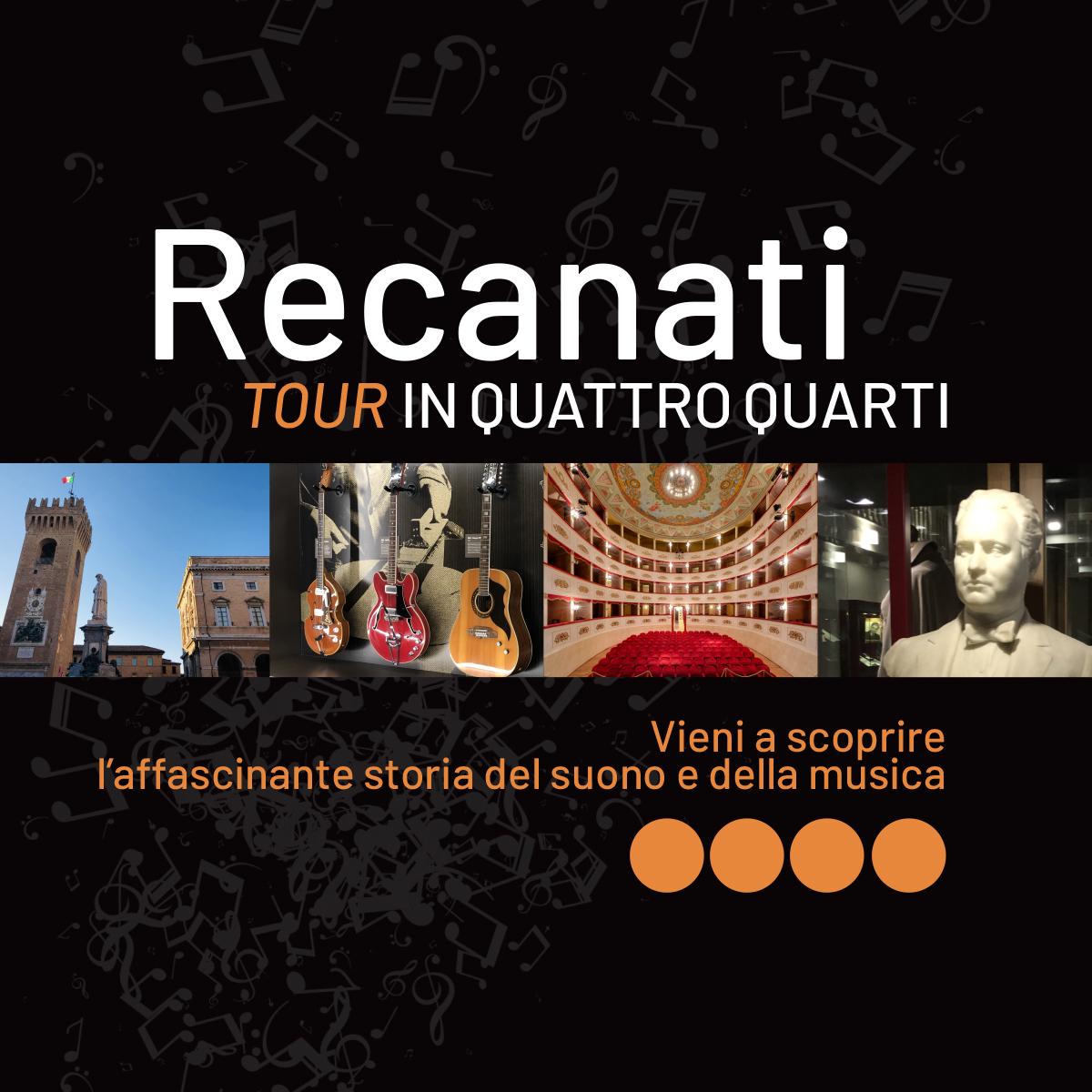 Sabato 30 ottobre e domenica 7 novembre: Recanati… tour in quattro quarti